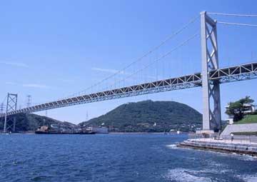 crucero por Estrecho de Kanmon