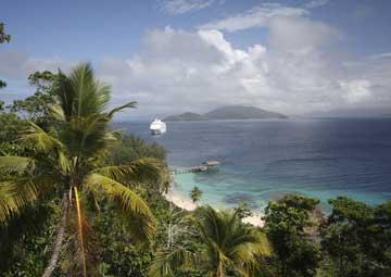 crucero por Doini Island