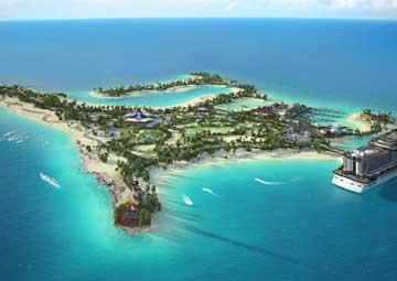 crucero por Ocean Cay MSC Marine Reserve, Bahamas