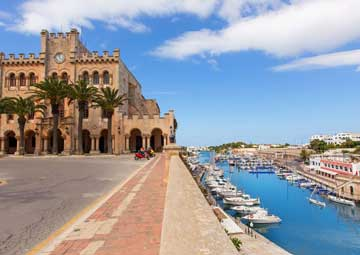 crucero por Ciutadella (Menorca)