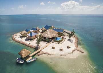 crucero por Harvest Cay, Belize