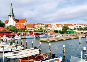 crucero por Ronne, Dinamarca