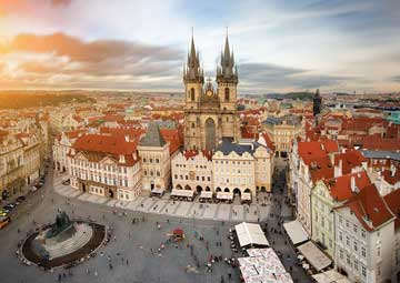 crucero por Praga