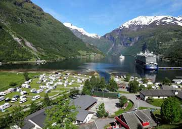 crucero por Geiranger (Noruega) /  Hellesylt (Noruega)