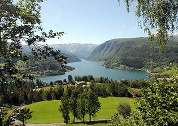 crucero por Ulvik / Eidfjord