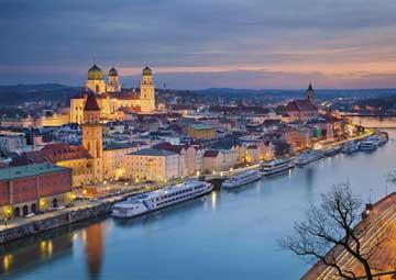 crucero por Passau (Alemania) / Linz (Austria)