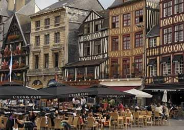 crucero por Rouen, Francia / Caudebec en Caux / Honfleur (Francia)