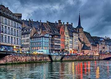 crucero por Estrasburgo (Francia) / Rudesheim(Alemania)