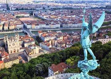 crucero por Lyon (Francia) / Tain-L'hermitage (Francia)