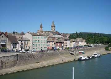 crucero por Tournus (Francia) / Chalon sur saone (Francia)