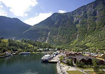 crucero por Flam/ Aurlandsfjord/ Sognefjord