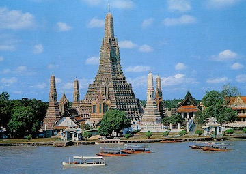 crucero por Bangkok (Tailandia)