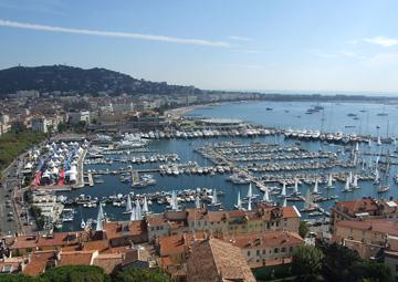 crucero por Cannes (Francia)