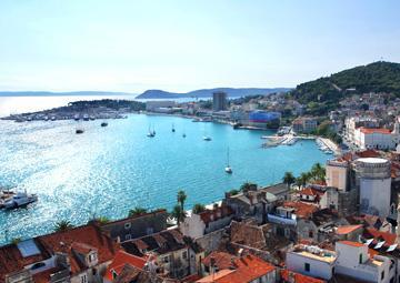 crucero por Split (Croacia)