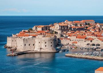 crucero por Dubrovnik (Croacia)
