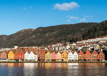 crucero por Bergen (Noruega)