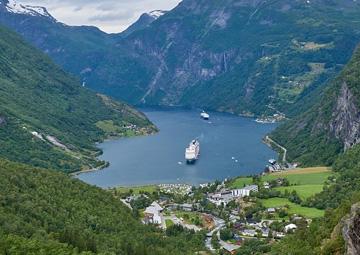 crucero por Geiranger (Noruega)