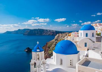 crucero por Santorini (Grecia)