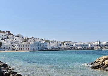 crucero por Mikonos (Grecia)