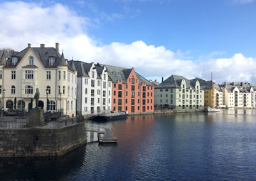 crucero por Alesund (Noruega)