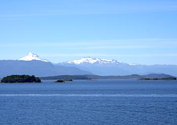 crucero por Cruise Canal Moraleda (Chile)