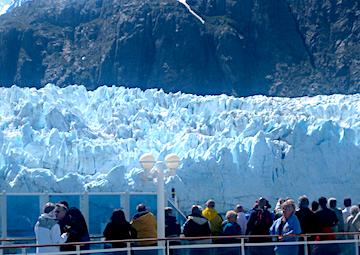 crucero por Crucero panorámico por Glaciar Bay