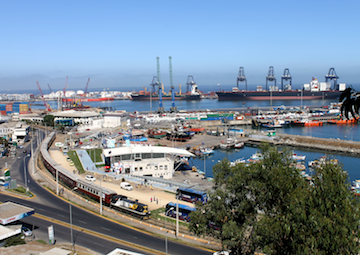crucero por San Antonio (Chile)