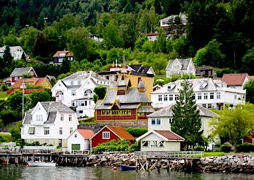 crucero por Balestrand (Noruega)