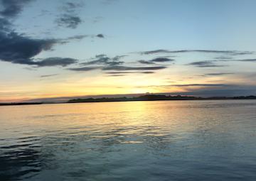 crucero por Abacate, Strait of Breves/ Breves Narrows (Brasil)/ Ilha Ituquara
