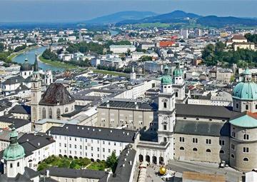 crucero por Salzburgo (Austria)